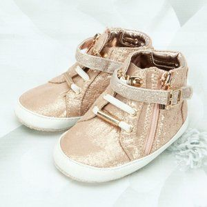 Michael Kors Rio Infant High Top Sneakers Shoes